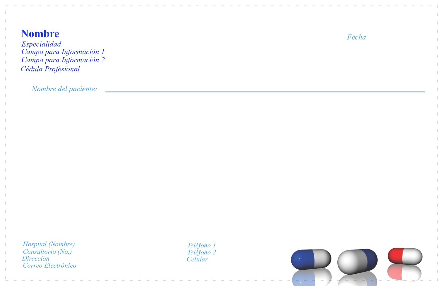 formato de receta medica doc