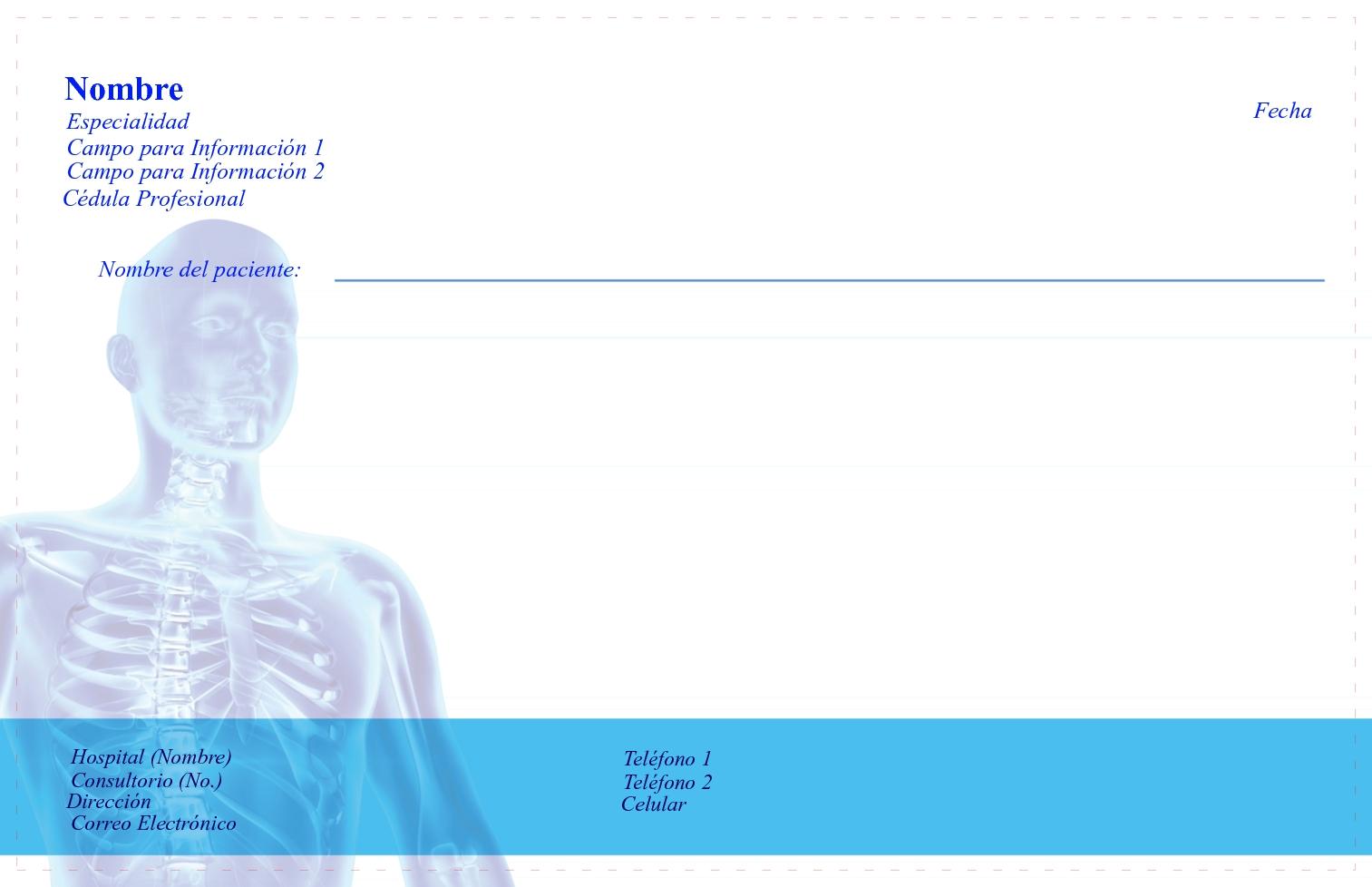 descargar receta medica del imss editable keywordtowncom pdf free download